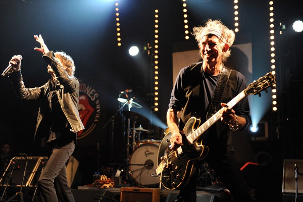 The Rolling Stones Perform In Paris At A Secret Club Gig