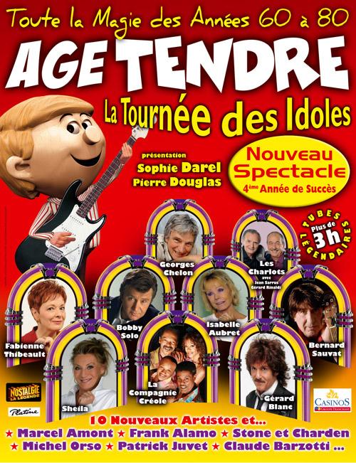 Tournée Age Tendre
