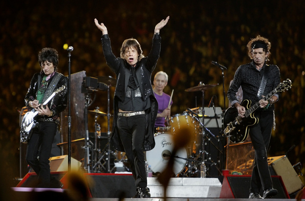 The Rolling Stones live à Bercy 2008